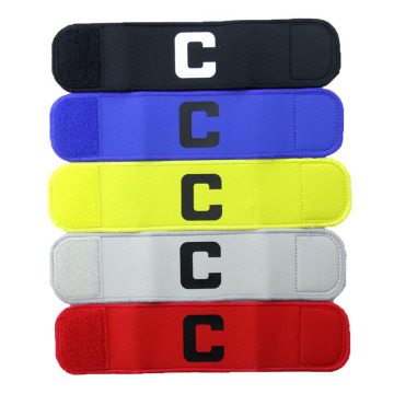 Adjustable Elastic Youth Soccer Captain Armband