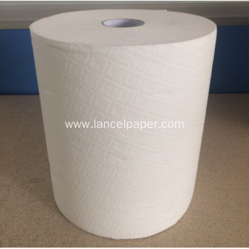 Laminated hand towel tissue