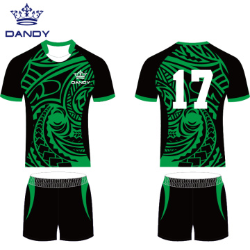 কাস্টমাইজযোগ্য sublimated রাগবি শার্ট