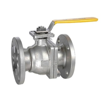 ISO5211 Flange JIS 10k Stainless Steel 2PC Floating Ball Valve