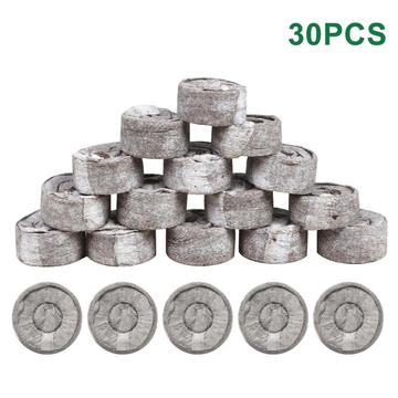 Planters & Pots Greenhouse Transplanting Agricultural Peat Soil Pellets Nutrient Starting Plugs Compressed Outdoor Garden Nursery Blocks Roo