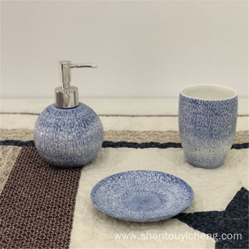 Ceramic bathroom set bath collection
