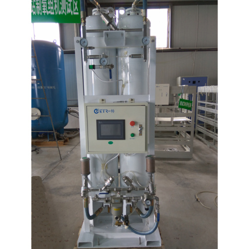 Skid-mounted low cost oxygen generating manufacturing plant