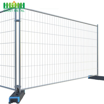 Free Sample PVC/Plastic Feet Removable Temporary Fence