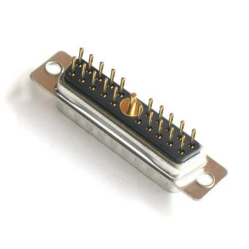High Power 21W1 D-SUB Connector Male Solder