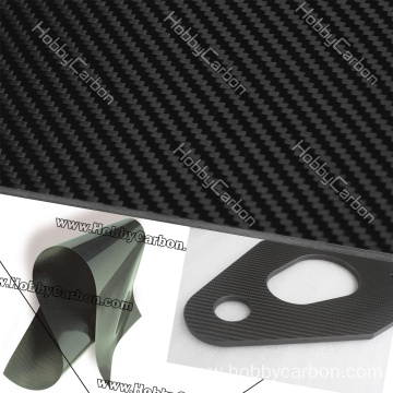 woven license frame carbon glass sheets cutting