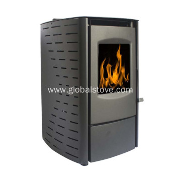 Custom Room-independent pellet stove