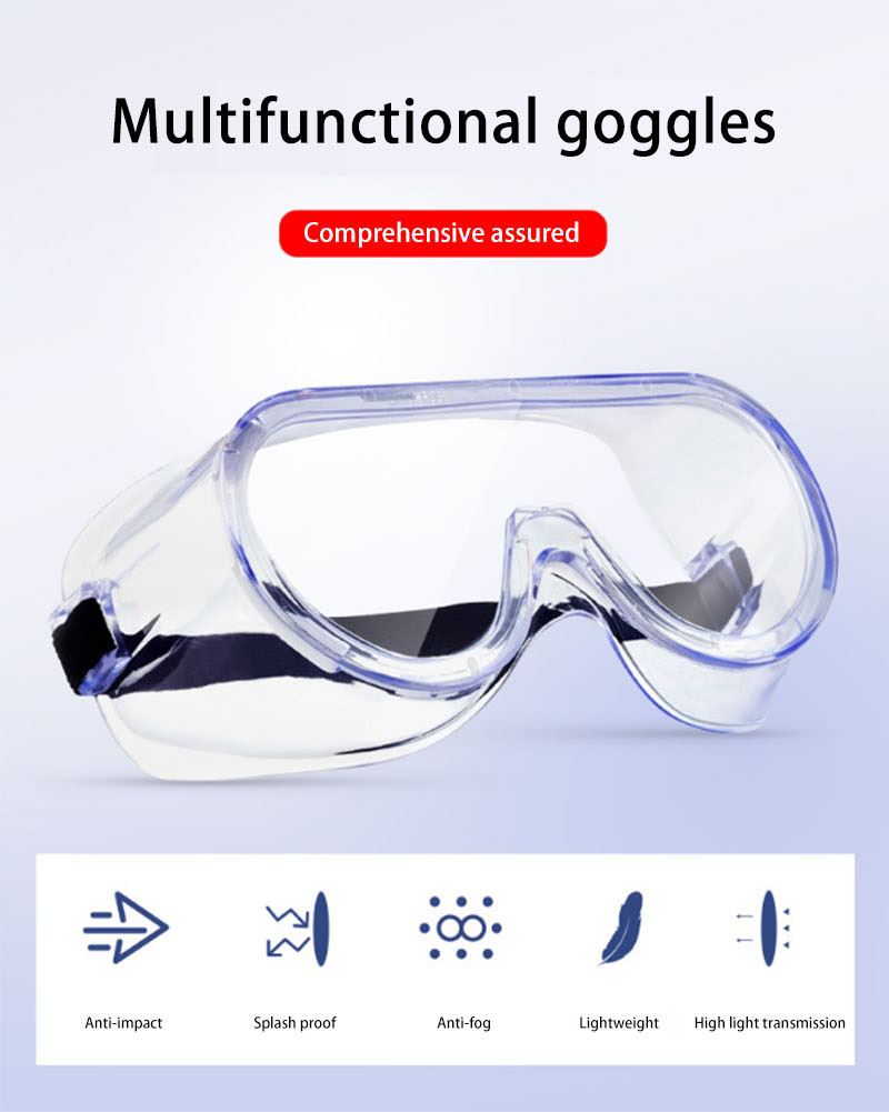High light transmission multifunctional goggles-1