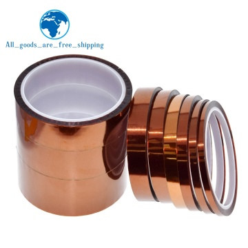33meter x 5-40mm High Temperature Polyimide Tape Heat Resistant Insulation Polyimide Film Adhesive Tape 10mm