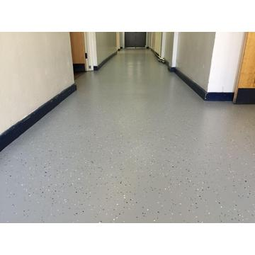 Epoxy color sand Anti slip floor