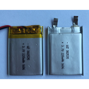 220mAh Li Polymer Battery For Wifi Speaker (LP2X3T3)