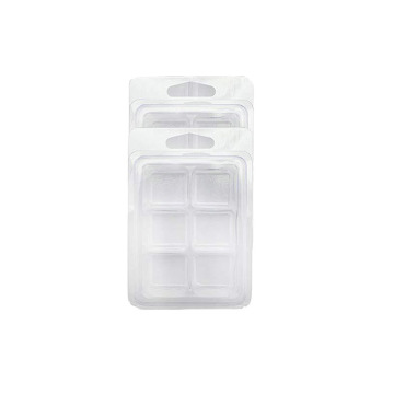 6 Cavity Wax Melt Containers Plastic Clamshell Packaging