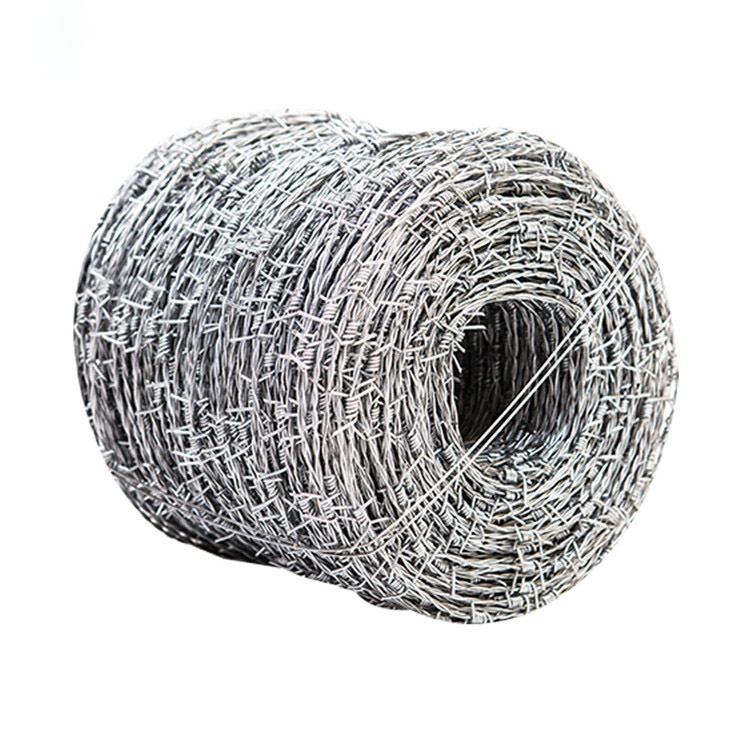 Barbed wire roll price fences