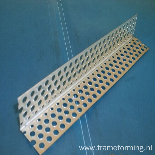 wall angle with holes 30 X 30mm  25 X 25 mm making machine
