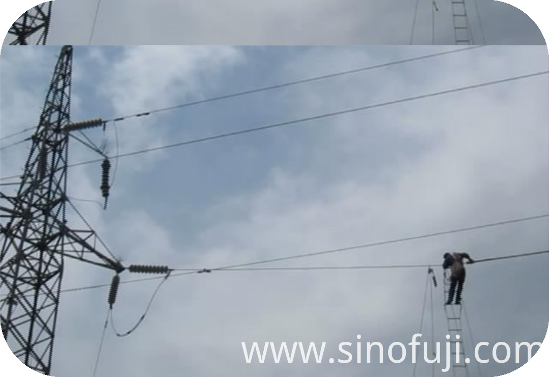 Application Demonstration (10-2) of SINOFUJI Overhead Line Cover