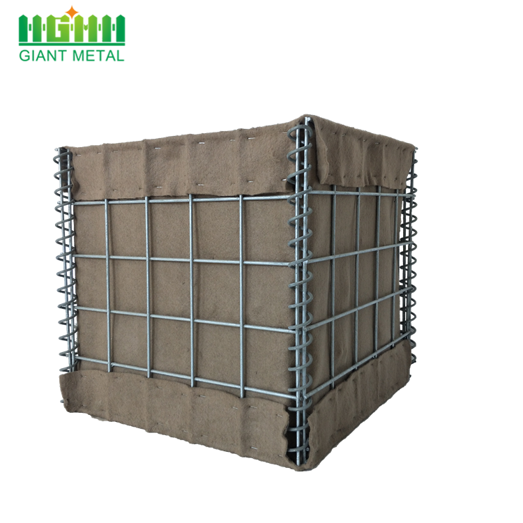 Factory Welded Hesco Bastion Wall  for Wholesale