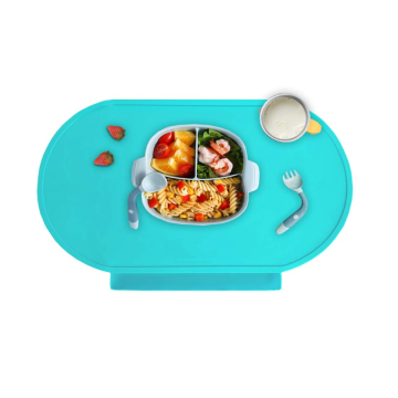 Reusable Food Catching Placemats for Kids Baby