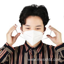 Non woven Fabric Earloop ffp2 KN95 N95 Respirator