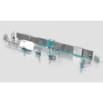 Vertical Insulating Glass Equipment Production Line