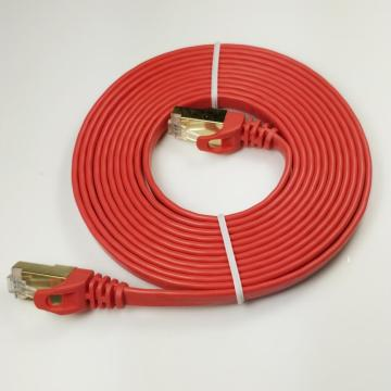 Flat Cat7 Ethernet Cable Shielded Durable Flat Cable