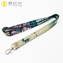 Cheap price logo neck lanyards for badges
