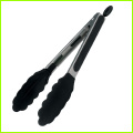 "Heat resistant 12"" Silicone Barbecue BBQ Tongs"