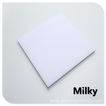 Lamp light panel white diffuser PC sheet