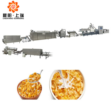 breakfast cereal corn flakes food processing machine