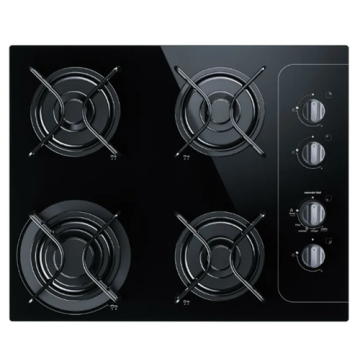 4-Burner Glass Stove Consul