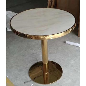 D450 Titanium gold table base