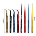 Wozniak Industrial High henacity Colorful Tweezer Clamp for PCB Motherboard IC Repair Tool hot sale