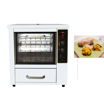 CE approved Chinese sweet potato corn roasting machine fresh corn grilling oven