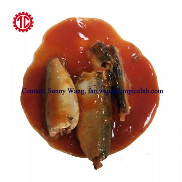 Hot Spicy Canned Sardine Fish In Tomato