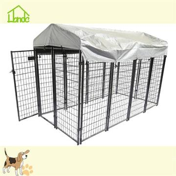 Heavy duty large dog kennel