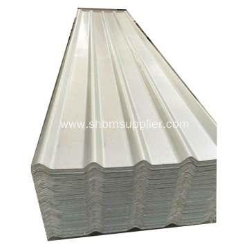 Aluminium Foil  Heat-Resistant Anti-typhoon MgO Roof Sheet