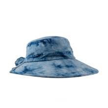 Tie dye bucket cap and hat