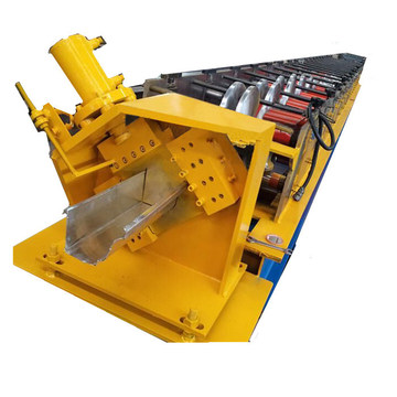 6K gutter roll forming machine