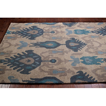 Polyester Hand Hooked Carpet