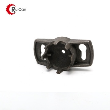 the galvanized iron hex machinery sand casting parts