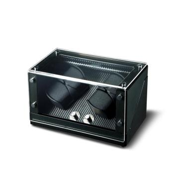 Watch Winder Black Carbon Fiber