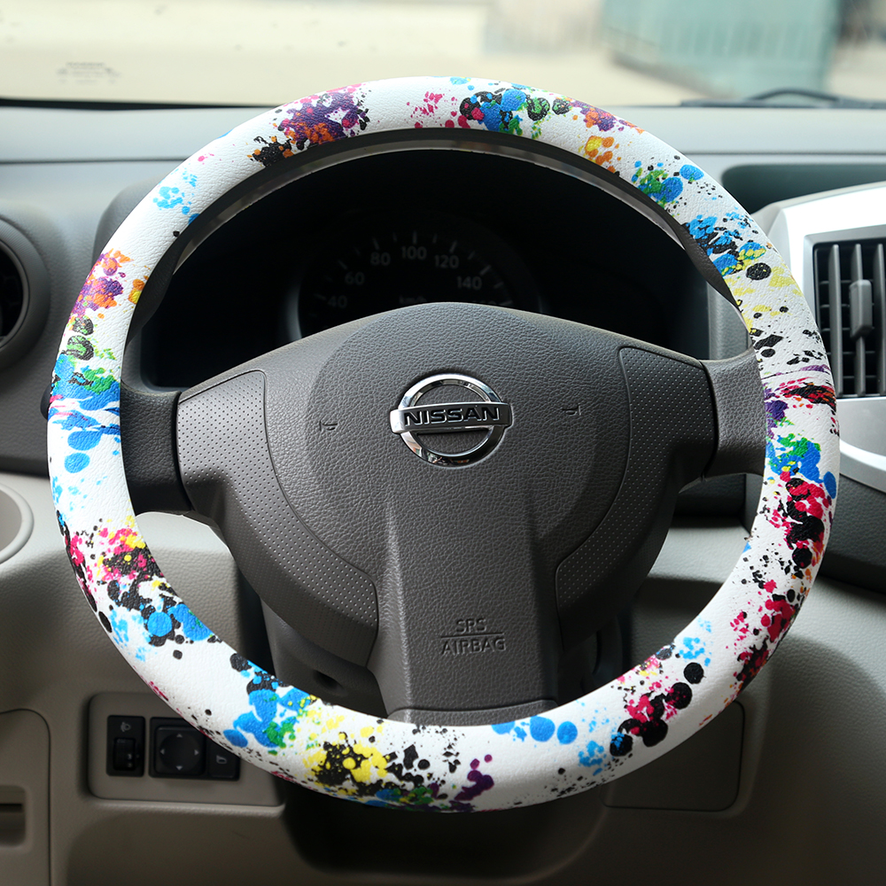 design your steering wheel cover