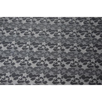 100% Polyester Star Pattern Lace Fabric