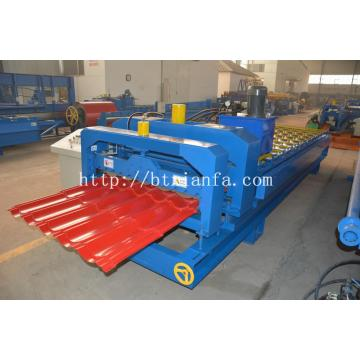 I-Uganda Tiles Steel Roof Panel Machine