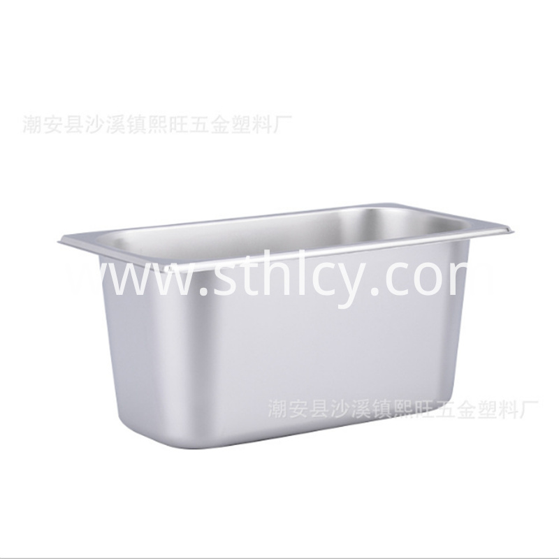 Stainless steel ice cream food bowl