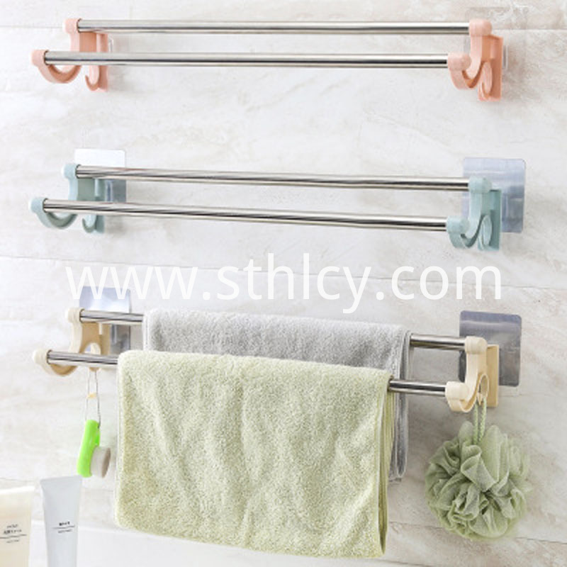 Punch Free No Trace Towel Rack