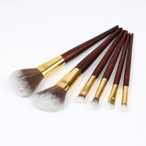 6 Piece best Synthetic Makeup Brush Set