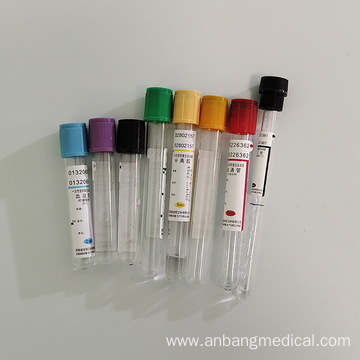Disposable Medical Blood Collection Tube with Ce
