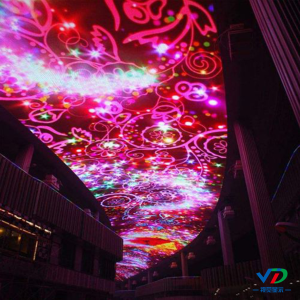 PH2.5 led ceiling display screen
