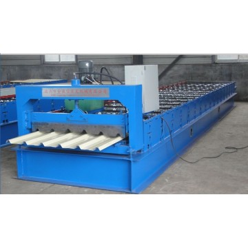 Two Layer Step Tile Corrugated Arc Machine