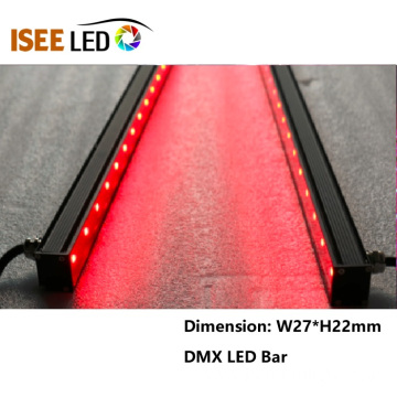 Music Activated DMX RGB Led Bar Linear Tube